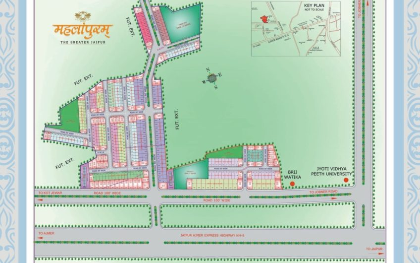 Mahalapuram-key plan