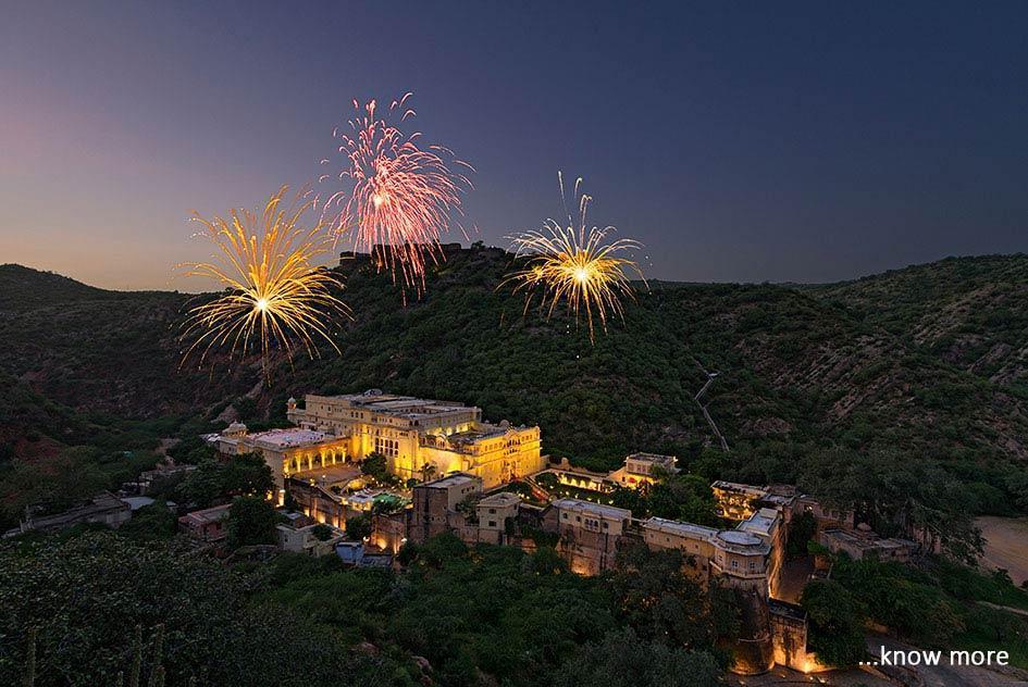 Samode- Places to visit near Jaipur